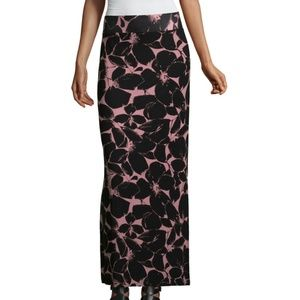 Maxi Skirt /Brushed Floral